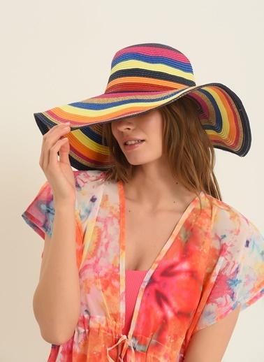 Morhipo Beach Kadın Renkli Şapka MBKSS21SP0002 Renkli